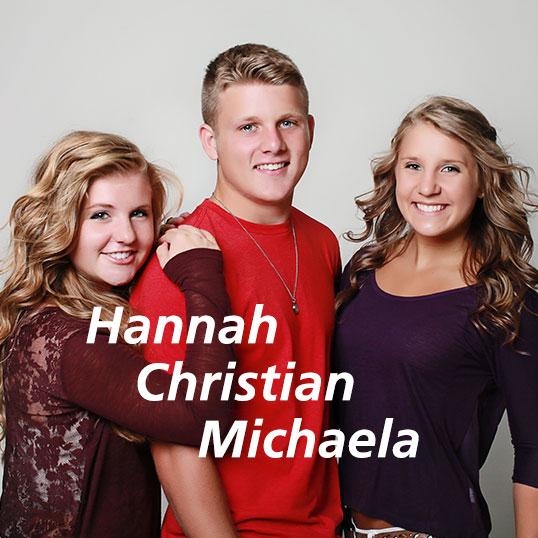 Hannah Christian Michaela