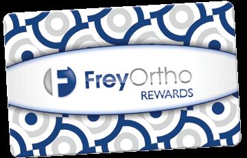 Frey Ortho rewards